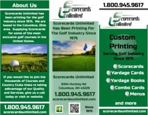 scorecards unlimited brochure
